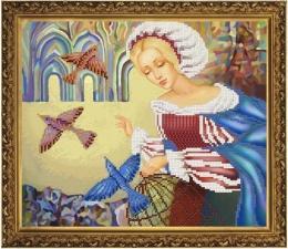 Новая Слобода | Птица счастья. Размер - 32 х 26 см