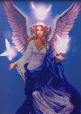 Астрея Арт | Небесный ангел. Размер - 30 х 40 см