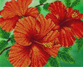Цветок страсти. Размер - 32 х 26 см.