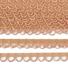 Тесьма отделочная с петлями UU шир.18-19мм цвет 298 бежевый