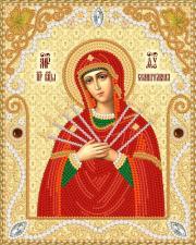 Маричка   Семистрельная Пресвятая Богородица. Размер - 14 х 18 см