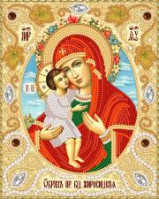 Маричка   Жировицкая икона Божией Матери. Размер - 14 х 18 см