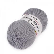 Троицкая пряжа | LANA GRACE Classic (25% мериносовая шерсть 75% акрил супер софт) 100г/300м цв.0813 светлые сумерки