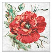 Матрёнин Посад | Маков цвет. Размер - 32 х 34 см