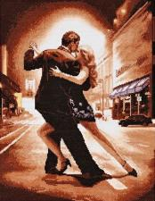 Alisena | Танго в ночи. Размер - 28 х 36 см