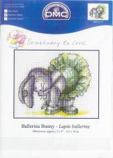 Схема для вышивки DMC BL031/51 Ballerina Bunny