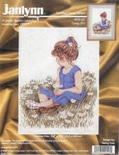 Схема для вышивки Janlynn #29-20 Daisy Girl