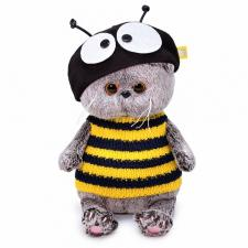 Кот Басик BABY в костюме пчёлка, игрушка мягкая Budi Basa