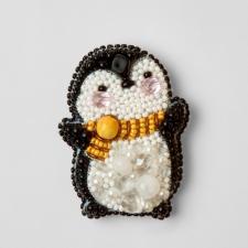 """Набор для изготовления броши Crystal Art """"Пингвин"""". Размер - 4,5 х 6 см"""