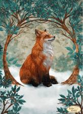 Тэла Артис | Сказка про лису. Размер - 24 х 33 см