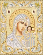Маричка | Венчальная пара. Казанская Богородица (золото). Размер - 14 х 18 см