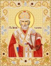 Маричка | Святой Николай Чудотворец. Размер - 18 х 23 см
