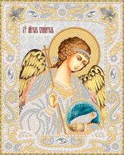 Маричка | Ангел Хранитель с Душой (серебро). Размер - 14 х 18 см