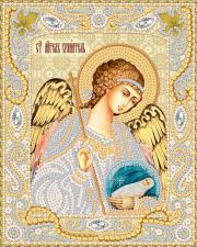 Маричка | Ангел Хранитель с Душой (золото). Размер - 14 х 18 см