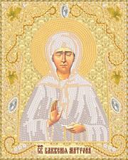 Маричка | Святая Блаженная Матрона Московская (золото). Размер - 14 х 18 см