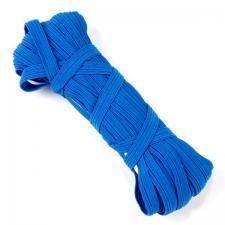 Резинка-продержка арт.с39 7-8мм цв.синий уп.10м