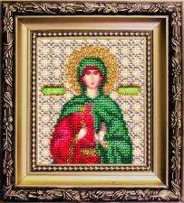 Чаривна мить   Икона Святая мученица Антонина. Размер - 9 х 11 см