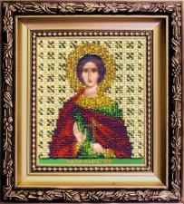 Чаривна мить   Икона Святой мученик Анатолий. Размер - 9 х 11 см