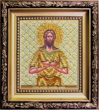Чаривна мить   Икона Святой Алексий, человек Божий. Размер - 9 х 11 см