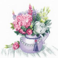Риолис   Цветочное очарование. Размер - 30 х 30 см