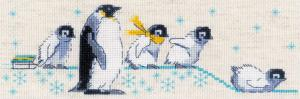 Риолис | Пингвинчики. Размер - 24 х 8 см