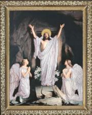 Краса и творчество | Воскресение Господне. Размер - 44,5 х 59 см