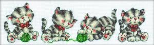 РТО | М160 Играющие котята. Размер - 33 х 10 см