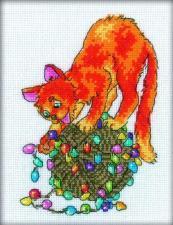 РТО | С117 Праздник для кота. Размер - 13 х 18 см