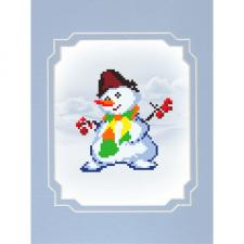 Матрёнин Посад   Снеговик. Размер - 13 х 16 см