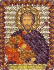 Панна   CM-1482 Икона Святой Великомученик Феодор Тирон. Размер - 8,5 х 10,5 см