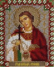 Панна   CM-1491 Икона Святой первомученик Стефан. Размер - 8,5 х 10,5 см