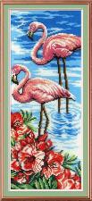 М.П.Студия   Фламинго. Размер - 15 х 40 см
