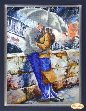 Тэла Артис   Влюблённые под дождём. Размер - 24 х 32 см