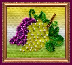"Абрис Арт | Магнит ""Гроздь винограда"". Размер 8 х 7 см"