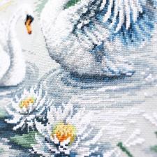 Чудесная игла   Свадебный вальс. Размер - 41 х 31 см