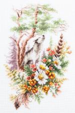 Чудесная игла | Дух летнего леса. Размер - 17 х 27 см