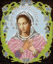 Икона Божья Матерь Умиление. Размер - 19,5 х 23 см.