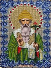 Икона Святитель Спиридон Тримифунтский. Размер - 19 х 25 см.
