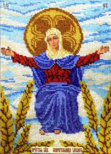 Икона Спорительница хлебов. Размер - 19 х 27,5 см.