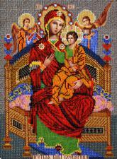 Богородица Всецарица. Размер - 26 х 35 см.