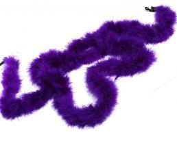 Боа (пух). Цвет-фиолетовый