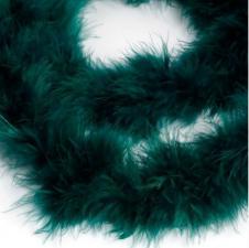 Боа (пух). Цвет-тёмно-зелёный