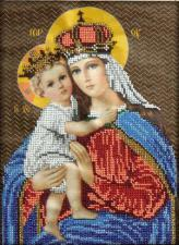 Мария с младенцем. Размер - 19 х 26 см.