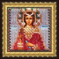 Икона Св.муч.Любовь(с акрил. рамкой). Размер - 6,5 х 6,5 см.