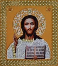 Венчальная пара.Икона Христа Спасителя(золото).