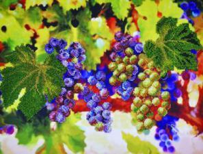 Виноградные гроздья. Размер - 38 х 28 см.