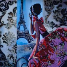 Парижские каникулы. Размер - 28 х 28 см.