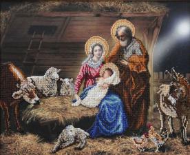 Рождество Христово. Размер - 45,3 х 32,7 см.