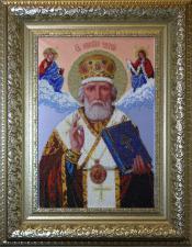 Св.Николай Чудотворец. Размер - 28,6 х 43 см
