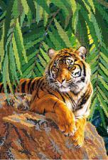 Хозяин джунглей. Размер - 25 х 37 см.